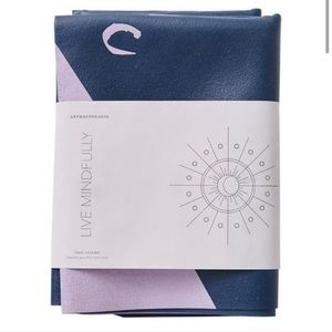NWT Anthropologie portable travel yoga mat